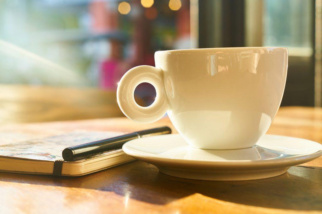 Im Café arbeiten - warum nicht