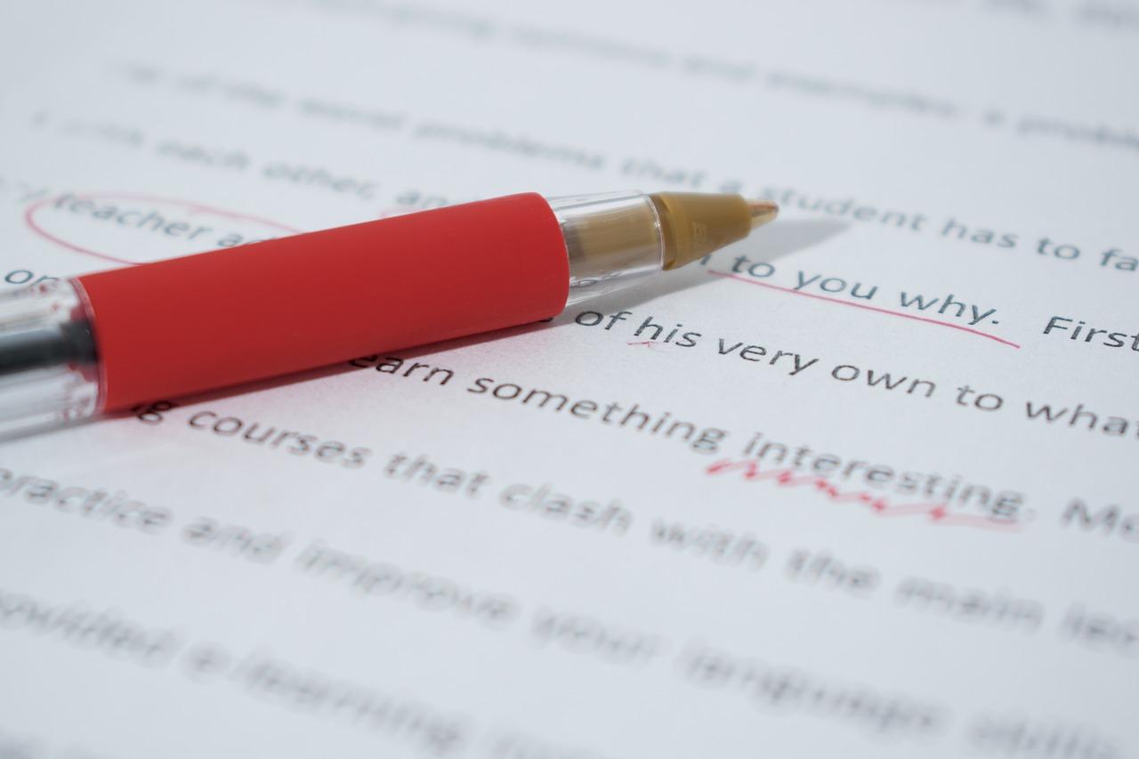 viele rechtschreibfehler in mail